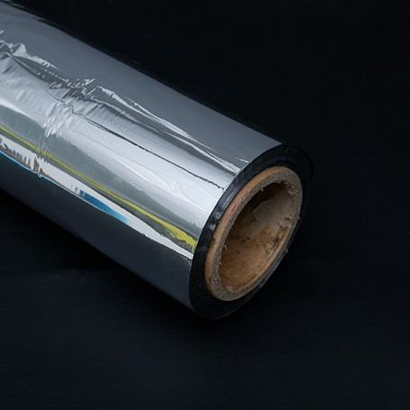 Double-sided aluminized film